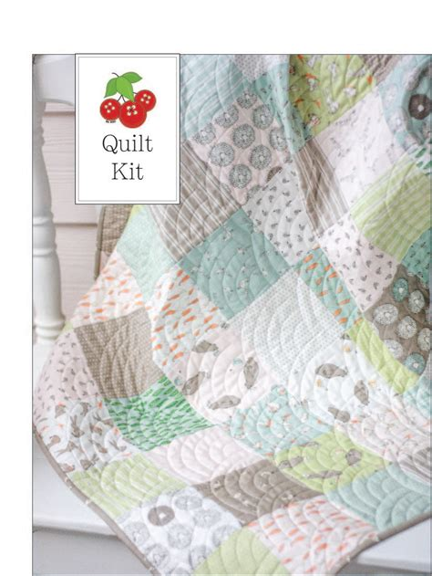 Quilt For Crib by Dickens Baby Quilt Kit Crib Quilt Kit Small