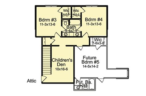 house plans with future expansion southern house plan with future expansion 960010nck