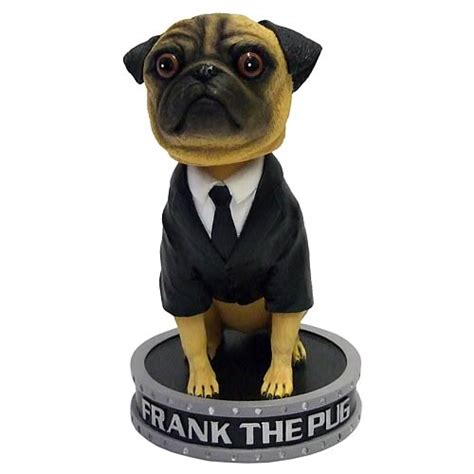 frank the pug in black in black frank the pug bobble factory entertainment in black bobble