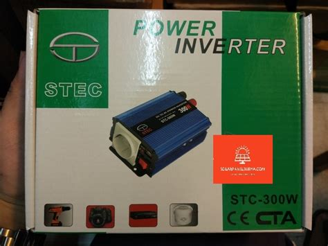 Harga Power Inverter Murah jual power inverter stec stc dc ke ac stc 300w jual
