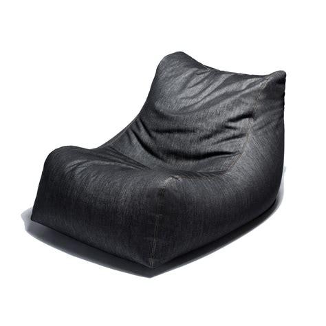 bean bag chair with ottoman denim bean bag chair ottoman jaxx denim touch of modern