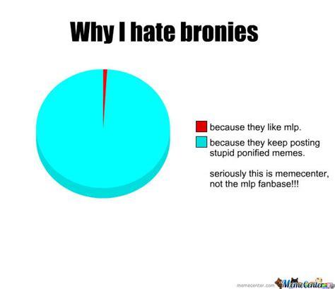 Bronies Meme - why i hate bronies by kingezio meme center