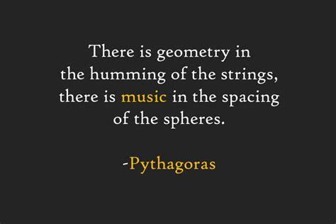 math sayings pythagoras quotes about math quotesgram