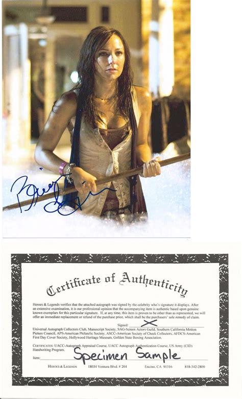 celebrity autographs coa 54 best horror sci fi movie autographs in person images
