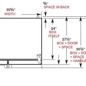 superior Kitchen Space Savers Cabinets #7: Counter-Depth-Refrigerator-Dimensions.jpg