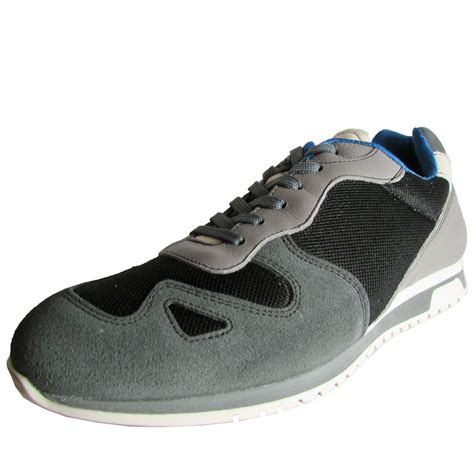kenneth cole reaction mens run leather sneaker shoe