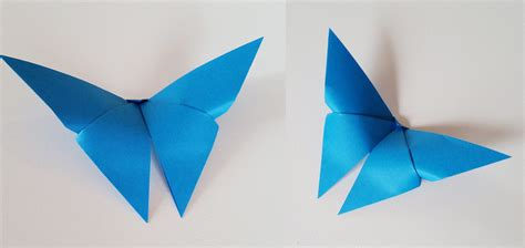 Origami Butter Fly - origami butterfly by fotland on deviantart