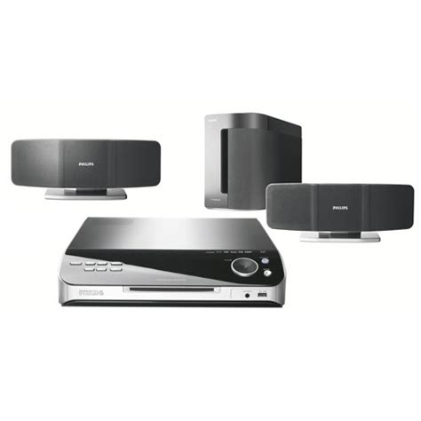 Home Theater Philips philips hts6500 37 dvd home theater system with sonowave