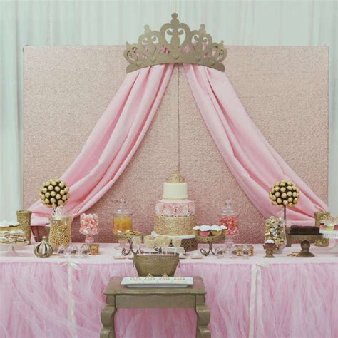 Princess Baby Shower Ideas by Princess Glam Baby Shower Ideas Princess Baby