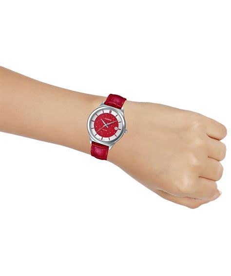 Casio Ltp 1233d 7av đồng hồ nữ casio ltp e141l 4a1vdf d 226 y da thật mặt m 224 u đỏ