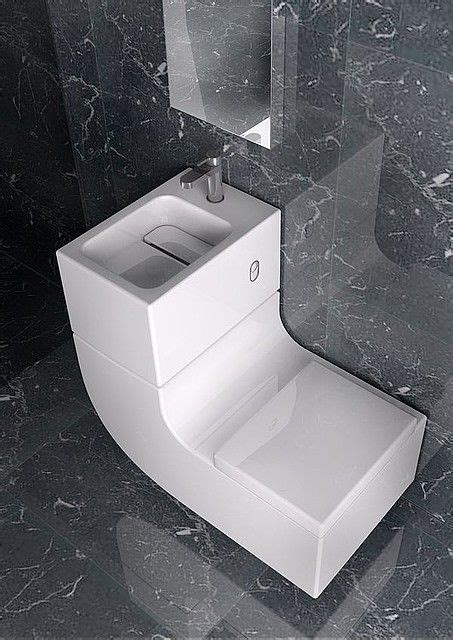 Sink And Toilet by Sleek Sink Toilet Combo Is An All In One Greywater