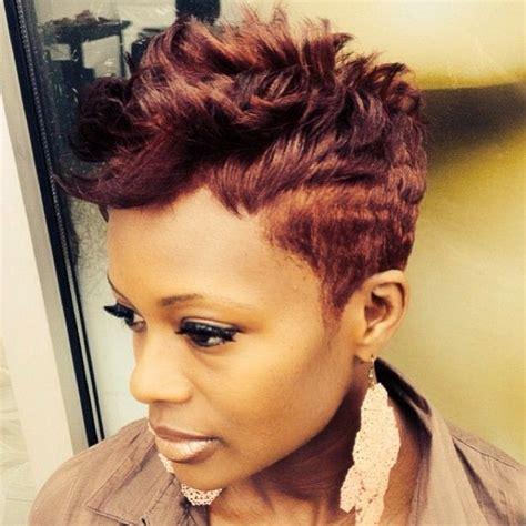 cut hairstyle  black women