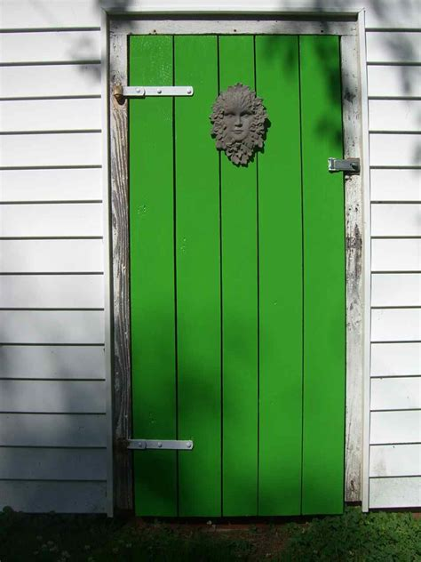Shed Door by Build Your Own Set Of Replacement Wooden Shed Doors Using