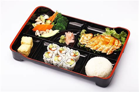 Chicken Tray Tray Lunch Box take out lunch bento box special markham kiku japanese cuisine