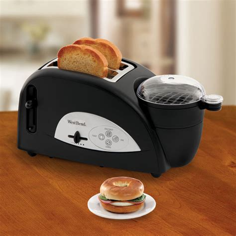 Egg And Muffin Toaster West Bend 174 2 Slice Egg And Muffin Toaster Wdrake