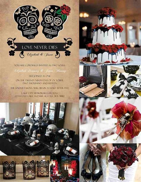 Best 25  Halloween themed weddings ideas on Pinterest