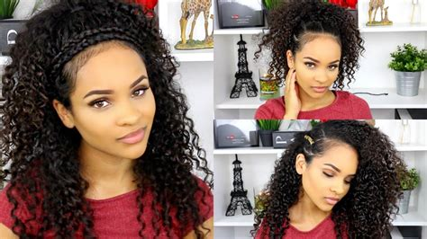 hairstyles for curly hair for school curly hairstyles for school youtube