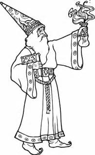 color wizard wizard coloring pages for coloringpagesabc