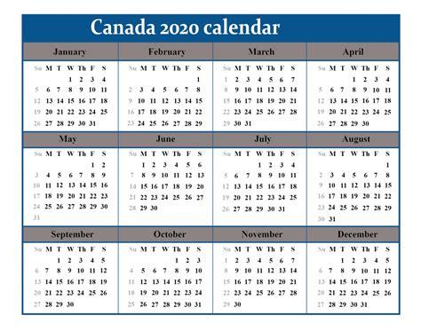 printable canada calendar template  excelword  printable calendar