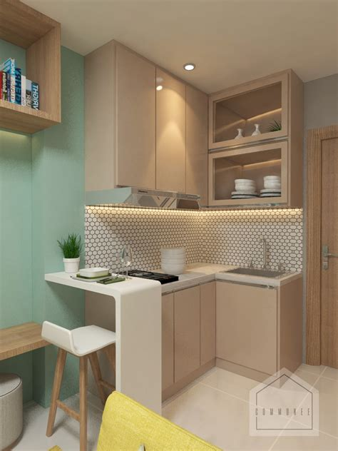 inspirasi  tips desain interior apartemen minimalis