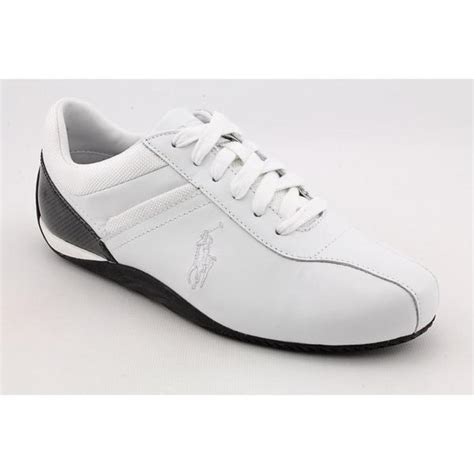 ralph athletic shoes polo ralph s barnham leather athletic shoe