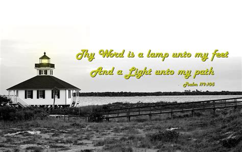 psalm   light house photograph  ronald  williams