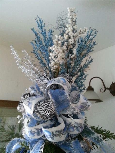 blue christmas tree topper christmas trees wreaths