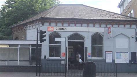 clapton overground station   london
