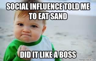 social influence meme