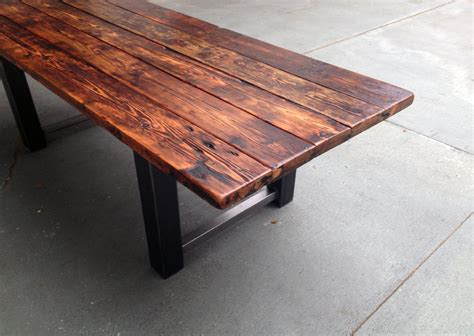 Reclaimed Wood Table by 34 Incredbile Reclaimed Wood Dining Tables