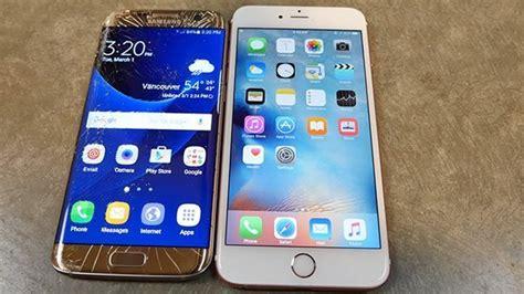 drop test samsung galaxy s7 edge vs apple iphone 6s plus