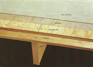 How To Get Glue Off Hardwood Floors - subfloor nails or screws and subfloor adhesive glue general diy discussions diy chatroom