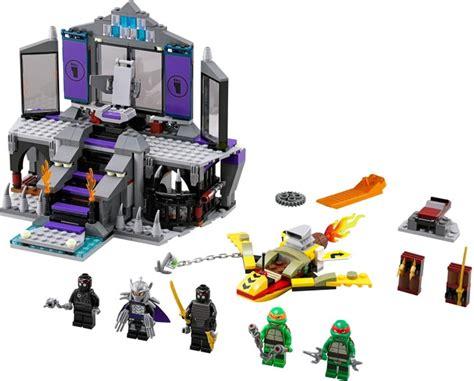 Brick Lego Lego 5002127 Flashback Shredder mutant turtles brickset lego set guide