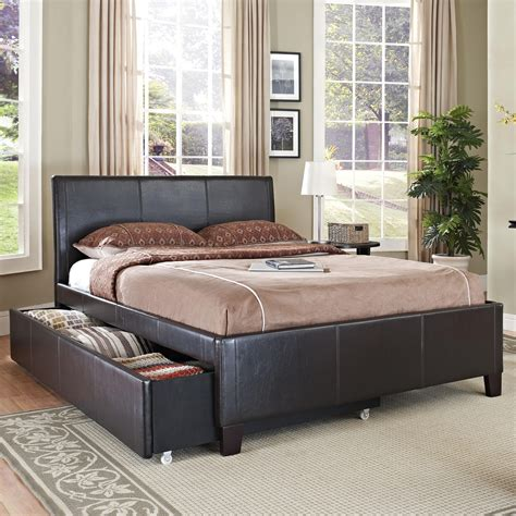 trundle bed bedroom sets standard furniture new york full brown trundle bed