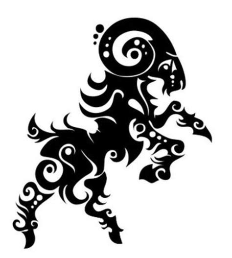100 and black aries tribal aries images 20 best winning designs images on