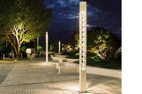 outdoor decorative pole lights exterior lighting pole decorative treille technilum