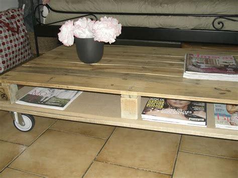 Transformer Palette En Table Basse by Transformer Une Palette En Table Basse Jolies Id 233 Es