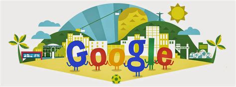 doodle for 2014 s world cup 2014 logo