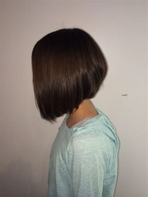 bob haircuts tweens trendy angled bob for tween kids pinterest
