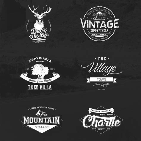 Tshirt Kaos Stronger Shop vintage vector logo design kit with 15 free logo templates
