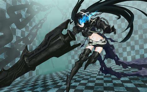 wallpaper anime black rock shooter mindless otakus black rock shooter tv review otaku reviews