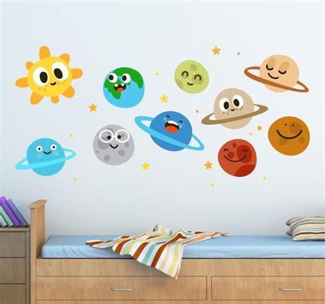 Wall Stickers Bambini wall sticker bambini pianeti tenstickers
