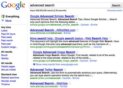 How To Do Advanced Search On 11 Tips For Advanced Search Usability