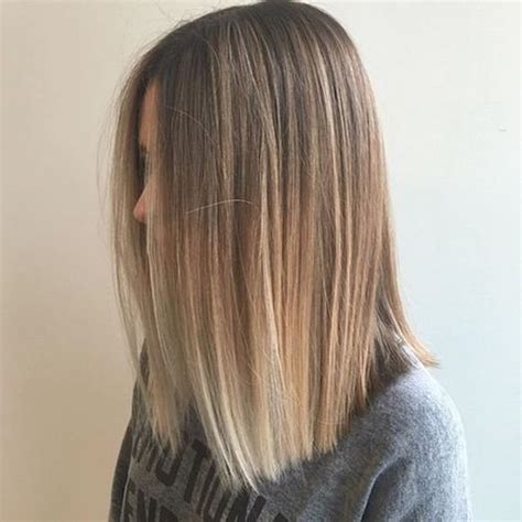 medium haircut balaige 33 best balayage hairstyles for straight hair for 2018