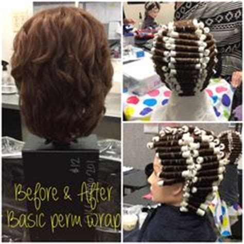 9 section perm straight back 9 section perm wrap on base rod