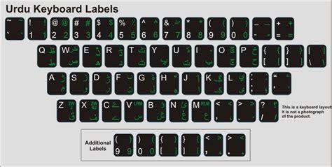microsoft word urdu keyboard layout keyboard language stickers