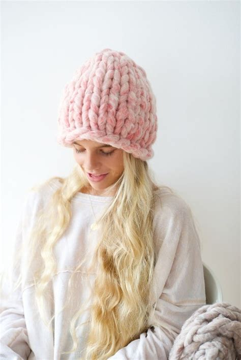 knit hat pattern thick yarn kleine kn 228 uele big loop garn loopy mango products and mango