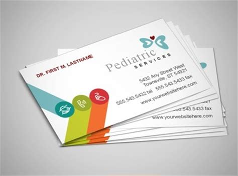 pediatric business card templates document moved