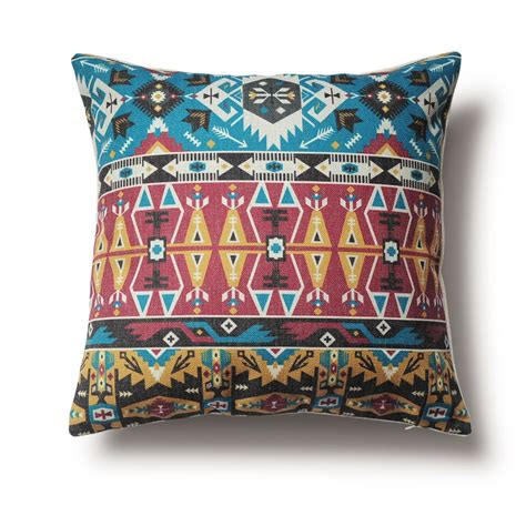 tribal patterns pillow cover ethnic style home pillow can