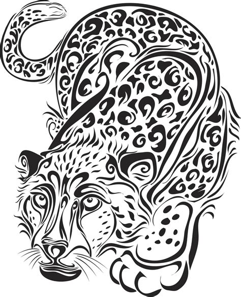 tribal cheetah tattoos these tribal animal tattoos will showcase the wildness in you